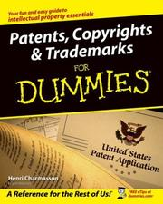 Patents, copyrights & trademarks for dummies PDF