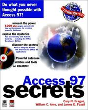 Access 97 SECRETS PDF