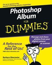 Photoshop Album for dummies PDF