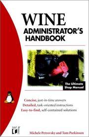 WINE Administrator's Handbook (M&T Books) Michele Petrovsky and Tom Parkinson
