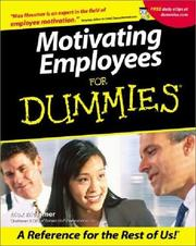 Motivating Employees for Dummies PDF