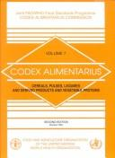 Codex Alimentarius, Vol.7 (Codex Alimentarius) by FAO