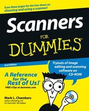 Scanners for dummies by Mark L. Chambers