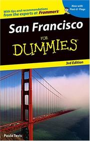 San Francisco For Dummies by Paula Tevis