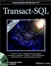 Transact-SQL by William C. Amo