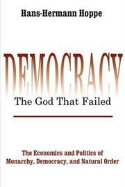 Democracy: The God that Failed PDF