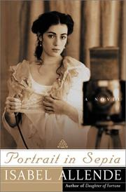 Cover of: Portrait in Sepia by Isabel Allende