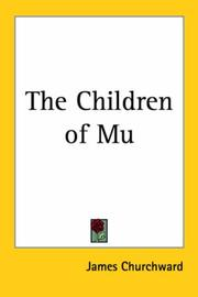 The children of Mu by James Churchward