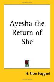 Ayesha, the return of She PDF