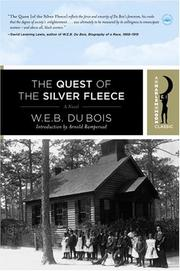 The quest of the silver fleece by Du Bois, W. E. B.