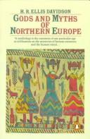 Gods and myths of northern Europe by Hilda Roderick Ellis Davidson