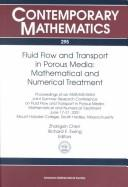 Fluid flow and transport in porous media PDF