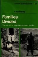 Families Divided by Colin Murray