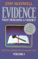 Cover of: Evidence that demands a verdict by Josh McDowell