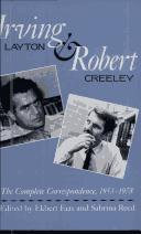 Irving Layton & Robert Creeley by Irving Layton