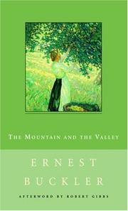 The Mountain and the Valley (New Canadian Library) PDF