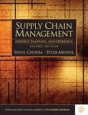 Supply chain management by Sunil Chopra