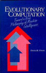 Evolutionary computation by David B. Fogel