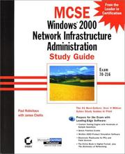 Windows 2000 Network Infrastructure Administration Study Guide Exam 70-216 PDF