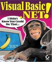 Visual Basic .NET! I Didn't Know You Could Do That.. PDF