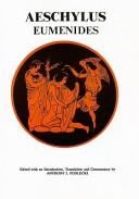 Cover of: Eumenides by Aeschylus