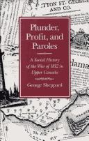Plunder, profit, and paroles by George Sheppard