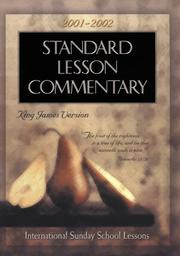 Standard Lesson Commentary 2001-2002 by Douglas Redford