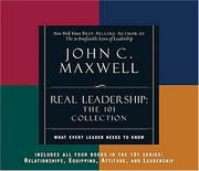 REAL Leadership by John C. Maxwell