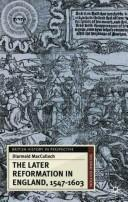 The Later reformation in England, 1547-1603 PDF