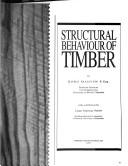 Structural Behaviour of Timber PDF