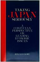 Taking Japan seriously by Ronald Philip Dore