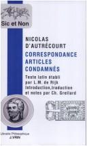 Correspondance, articles condamn PDF