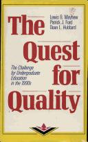 The quest for quality by Lewis B. Mayhew