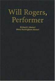 Will Rogers, performer by Richard J. Maturi