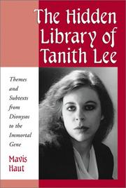 The hidden library of Tanith Lee by Mavis Haut