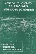 Actas De XIV Congreso De La Asociacion Internacional De Hispanistas