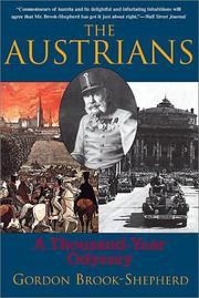 The Austrians by Gordon Brook-Shepherd