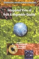 Integrated View of Fruit and Vegetable Quality PDF