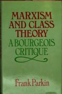 Marxism and class theory PDF
