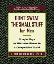 Don't Sweat the Small Stuff for Men PDF