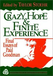 Crazy hope and finite experience PDF