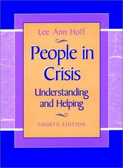 People in crisis by Lee Ann Hoff
