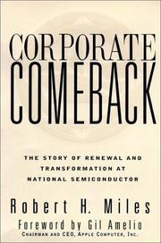 Corporate Comeback by Robert H. Miles