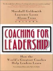 Coaching for Leadership PDF