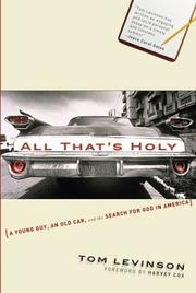 All That's Holy PDF