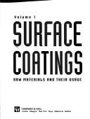 Surface Coatings - Raw materials and their usage