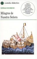 Milagros de Nuestra Seora by Berceo, Gonzalo de