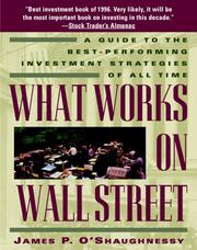 What works on Wall Street PDF