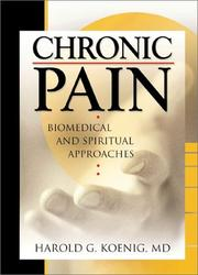 Chronic pain by Harold George Koenig