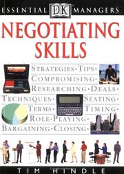 Negotiating skills by Tim Hindle